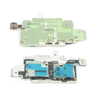 SIM +Memory Card Holder Flex Cable Board for Samsung Galaxy S3 SIIIGT-i9300 replacement part - 3
