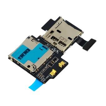 SIM Tray Holder Flex Cable for Samsung Galaxy S4 i9505 (Multicolor)