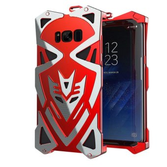 Simon Shockproof Aluminum Metal Armor Phone Hard Frame Shell ForSamsung Galaxy S8 Plus Case Luxury - intl
