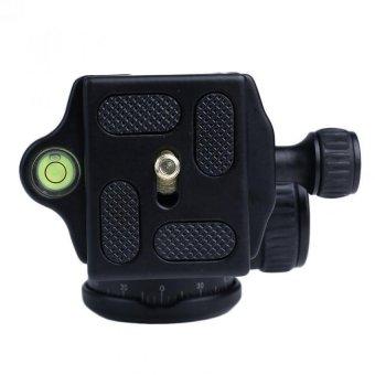 Sinvitron QZSD-06 Aluminum 30mm Camera Tripod Ball HeadBallhead+Quick Release Plate Pro Camera Tripod Max Load to 15kgQ-06 (Black) - 3
