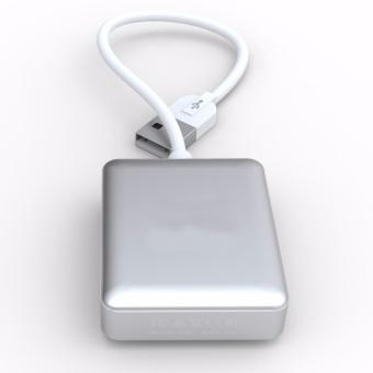 SIYOTEAM SY-H20 Ultra Slim 4-Port USB 2.0 Data Hub (Silver) - 2