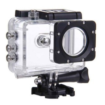 SJCAM 30M Underwater Transparent Waterproof Housing/Casing SoftTouch Button (Black/Clear) for SJCAM SJ5000 Price Philippines