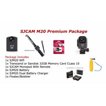 SJCAM M20 Action Camera Premium Package Price Philippines