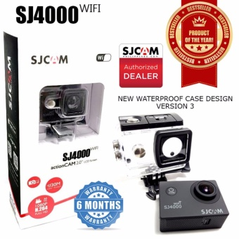 SJCAM Philippines SJ4000 WIFI Action Camera Upgraded ver. Now in 2.0 LCD Screen (BLACK)