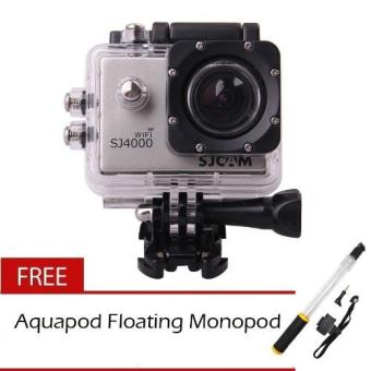 SJCAM SJ4000 Wifi 2.0 LCD 1080P Full HD Action Camera Sport DVRwith Free Aquapod floating monopod