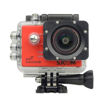 SJCAM SJ5000X Action Camera (Red)