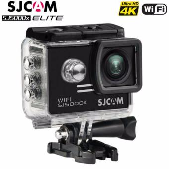 SJCAM SJ5000X Elite 4K 12MP Waterproof 30M Action Camera (Black)