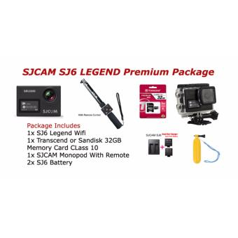 SJCAM SJ6 LEGEND Action Camera Premium Package Price Philippines