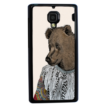 Sketch Bear Art Pattern Phone Case For Xiaomi Mi4