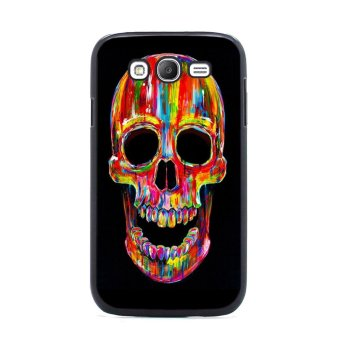 Skull Tattoo Pattern Case for Samsung Galaxy S3 (Multicolor)