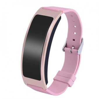 Sleep Heart Rate Monitor Fitness Tracker Pedometer Smart WatchWristband Bracelet Pink - intl