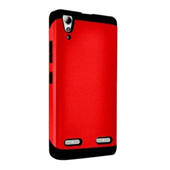 Slim Armor Case For Lenovo A6000 red