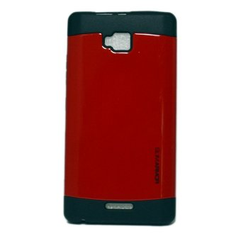 Slim Armor TPU Hard Case for Cherry Mobile Omega Lite 2 (Red)