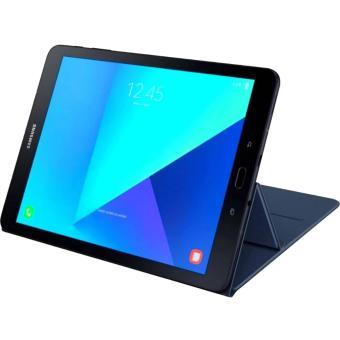 Slim Book Cover For Samsung Galaxy Tab S3 (Blue) - 3