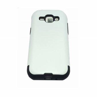 Slim Fit Hybrid Case for Samsung Galaxy J1 (White)