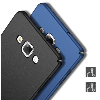 Slim Fit Shell Hard Full Protective Anti-Scratch Resistant CoverCase for Samsung Galaxy A5/A5 2015(Black) - intl - 3
