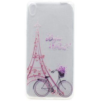 Slim Fit Transparent TPU Soft Back Case For Sony Xperia XA Ultra(Bike and Tower) - intl