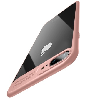 Slim Hybrid Clear Cover Case w/ Silicone Bumper for Apple iPhone 7Plus 5.5-inch (Pink) - intl - 5