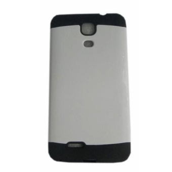 Slim Two Tone Hard TPU Case for Cherry Mobile Flare S4 (white)