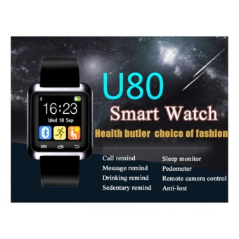 Smart Bluetooth Watch Call Message Reminder Sleep Monitor forIOS/Android Phone - intl - 2