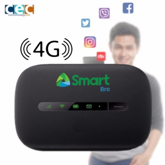 Smart Bro E5330C Mobile WiFi Speed up to 12Mbps 4G WiFi Hotspot (Black)