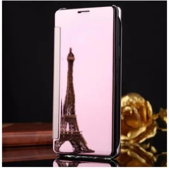 Smart Mirror Flip Case Cover For Samsung Galaxy J7 Pro (rose gold)
