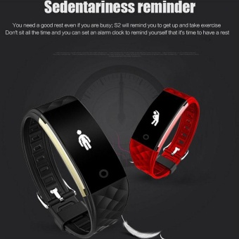 SMART S2 Smart Watch Bracelet Heart Rate Monitor Bluetooth Tracker For Android iOS - intl