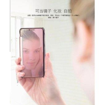 Smart Sleep Mirror Flip Case Cover For Hua wei mate 9(black) - intl - 4