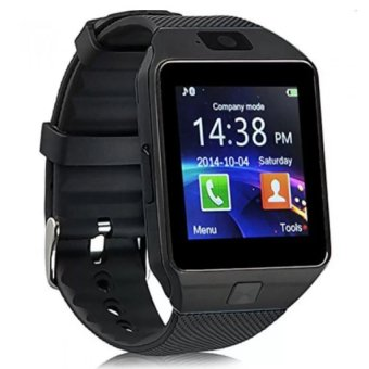 Smart Watch Phone With Sim Card Slot (Black)