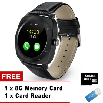 Smart Watch X3 Smartwatch Pedometer fitness Clock Camera SIM TF card Mp3 player Relogio masculino for android smart electronics - intl - intl