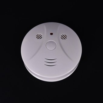Smoke Detector Cam Hidden Surveillance Security Spy Camera/Recorder Dvr+Remotef - intl Price Philippines