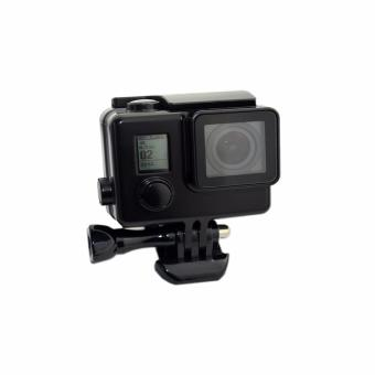 Snorkeling Diving Waterproof Case for Go pro Hero 4 3+ 3 Camera Black Protective Case Hero 4 Accessories
