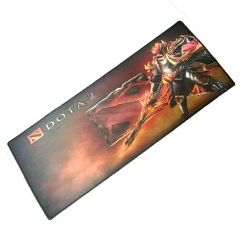 SOCUM LARGE DOTA 2 Gaming Mouse Pad SPEED 4 BLACK
