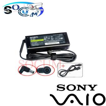 SOCUM Sony Laptop Charger 19.5V 3.3A for Sony VAIO FX , XG, Z, FSeries BLACK