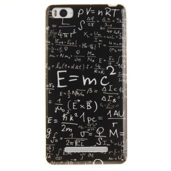 Soft Fit TPU Phone Back Cover For Xiaomi Mi 4i 4C (Math Formulas) -intl - 3