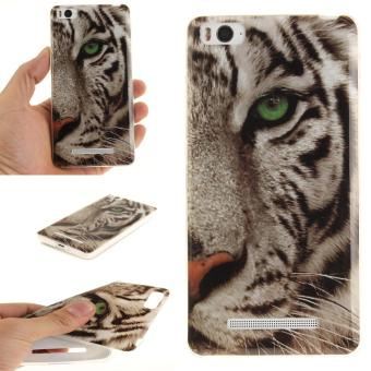 Soft Fit TPU Phone Back Cover For Xiaomi Mi 4i 4C (Tiger) - intl