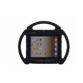 Soft Shockproof Kids Case With Handle for Apple iPad Mini 1/2/3/4(Black)