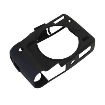 Soft Silicone Gel Rubber Camera Case Cover for Canon EOS M3(Black)- intl - 2