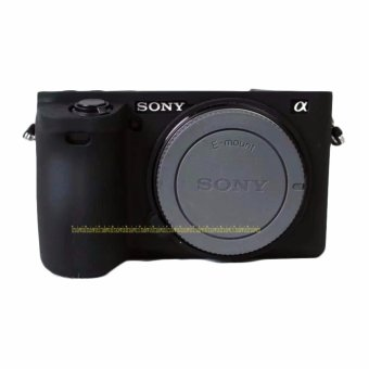 Soft Silicone Rubber Camera Protective Body Cover Case For Sony A6500 - intl