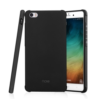 Soft Silicone Shockproof Rubber Case Cover For Xiaomi Mi Note(Black) - intl