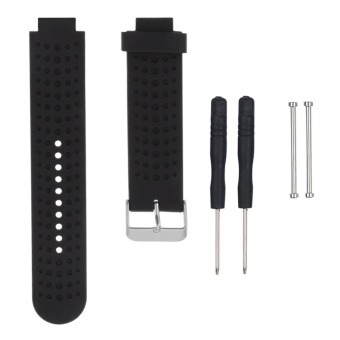 Soft Silicone Smartwatch Band Watchband Replacement Smart WatchStrap Bracelet for Garmin Forerunner 230/235/630/220/620/735 - intl