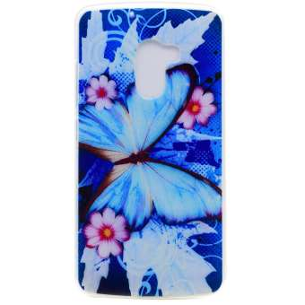 Soft TPU Cover Case for Lenovo K4 Note (Butterfly) - intl