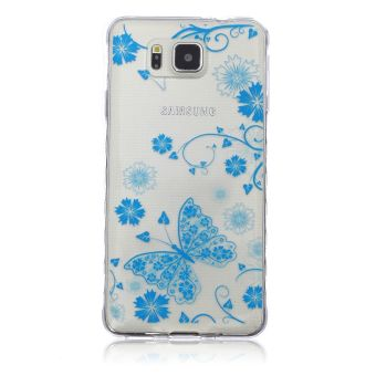 Soft TPU Cover Case for Samsung Galaxy Alpha G850F - intl