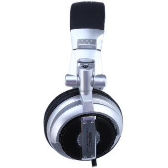 Somic ST-80 HiFi Subwoofer DJ Headphone Noise-Isolating Super Bass (Silver & Black) - 2
