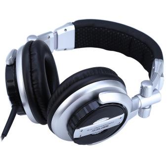 Somic ST-80 HiFi Subwoofer DJ Headphone Noise-Isolating Super Bass (Silver & Black) - 4