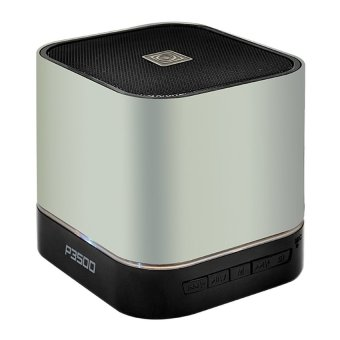Sonic Gear Audiobox P3500 10W Bluetooth Speaker with Multiple Input+ FM radio (Silver) Price Philippines