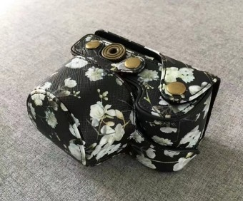 Sony A6000/a5100/m3/M10/m2 and elegant flowers camera bag