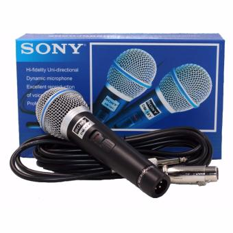 Sony DM-18Y Professional Dynamic Microphone (Black) Price Philippines