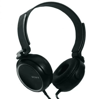 Sony XB400 108dB Over the Head Headphones (Black) WITH FREE PHONE RING STAND