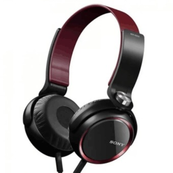 Sony XB400 108dB Stereo Subwoofer Headphones (Black/Red)